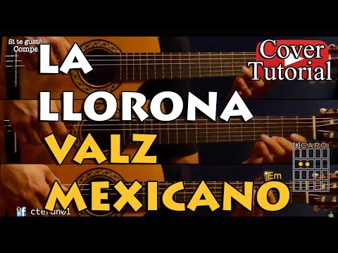 La Llorona - Vals Mexicano - Angela Aguilar Cover/Tutorial Guitarra
