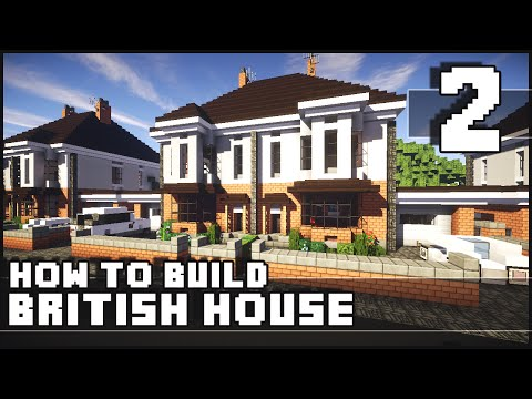 Minecraft – How to Build : British House – Part 2