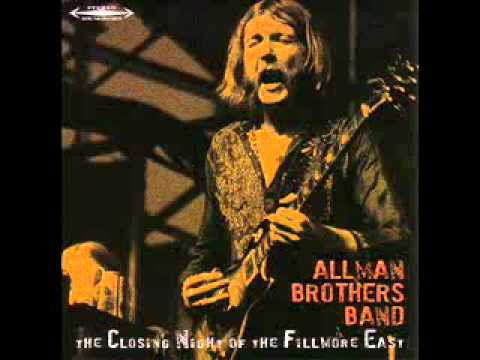 Allman Brothers Band – Whippin' Post – Closing Night At The Fillmore (6/27/71)