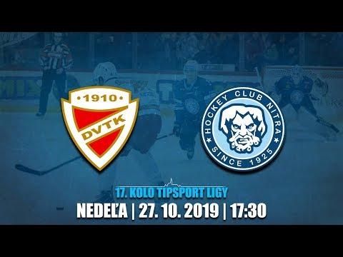 17. foduló: DVTK Jegesmedvék - HK Nitra 2-1