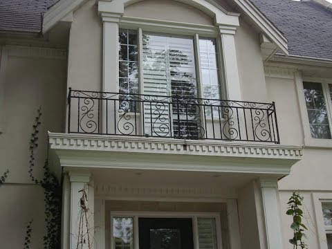 Modern Railing Balcony Design For Home