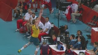 Men's Volleyball Preliminary Round - AUS v POL | London 2012 Olympics