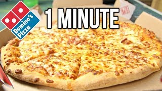 Video Domino's Medium Pizza in 1 Minute Challenge (vs MATT STONIE vs L.A. BEAST) MP3, 3GP, MP4, WEBM, AVI, FLV Juli 2018