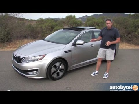 2013 Kia Optima Hybrid Video Review