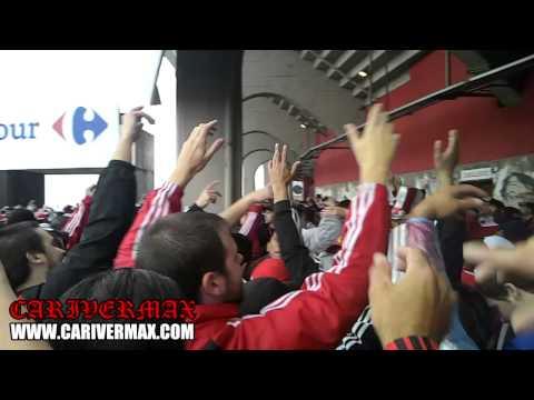 Video - PREVIA ESPECTACULAR SUPERCLASICO 2014 LOS BORRACHOS DEL TABLON - POR MAXI O. - Los Borrachos del Tablón - River Plate - Argentina
