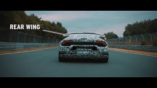 2017 Lamborghini Huracan Performante - Active Aerodynamics