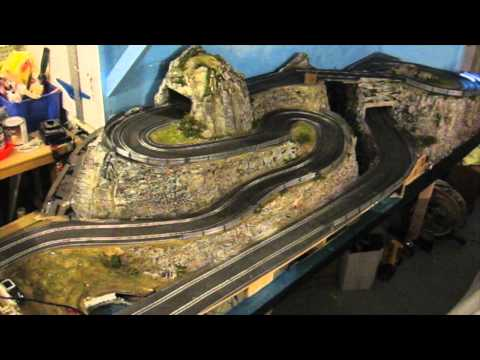 « Rallye des Alpes » themed Slot Car track