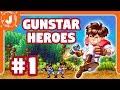 Gunstar Heroes 1 No Lances A Tu Compa ero sega Genesis