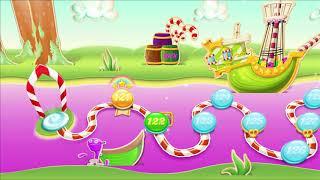 ᐈ CANDY CRUSH SODA SAGA || Level: 121-122-123 || White chocolate of Candycane Isle (iOS/Android)