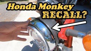 4. Does the 2019 Honda Monkey need a recall?!