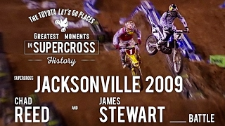 Vote now! http://www.supercrosslive.com/toyota-best-momentsWhere does this moment rank among the all-time great battles in Supercross history?Visit our official website: http://www.SupercrossLive.comShop for official merch: http://www.supercrosssuperstore.comWatch us on YouTube: http://www.youtube.com/supercrossliveLike us on Facebook: http://www.Facebook.com/SupercrossLive Follow us on Twitter: http://www.Twitter.com/SupercrossLive  Follow us on Instagram: http://instagram.com/SupercrossLive