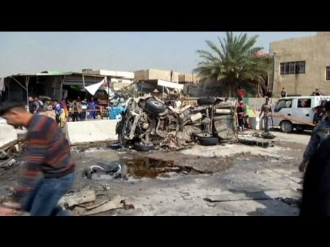 Blasts across Baghdad in Shi'ite muslim areas