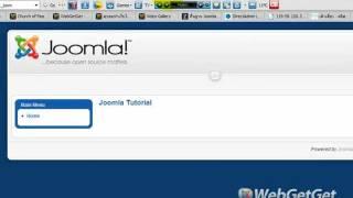 การติดตั้ง Joomla 1.5.25