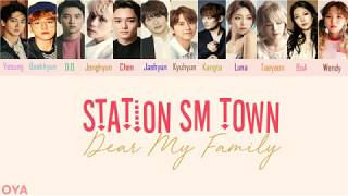 Video SM Station - Dear My Family [lyric Video] (Han/Rom) Color coded MP3, 3GP, MP4, WEBM, AVI, FLV Mei 2018