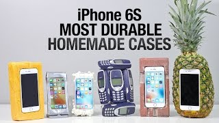 Video Most Durable iPhone 6S Cases Drop Test - Homemade Edition MP3, 3GP, MP4, WEBM, AVI, FLV November 2017