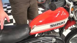 7. 1971 Suzuki TS250 Red
