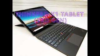 Lenovo ThinkPad X1 Tablet (3rd Gen) Unboxing Teardown