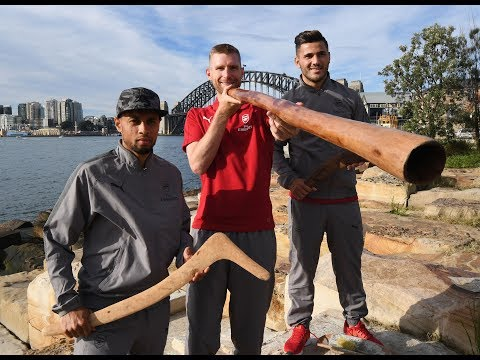 Arsenal Learn About Aboriginal Culture | Arsenal Tour 2017