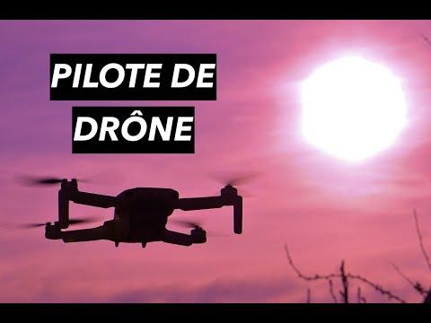 Comment devenir PILOTE DE DRONE PROFESSIONNEL ?