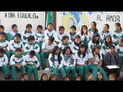 Juramento a la Bandera 3os. de Bachillerato. 2013