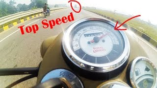 10. Classic/Bullet 500 Fi TOP SPEED in TRAFFIC!! | Royal Enfield Classic 500 goes CRAZY at 135 km/h!!