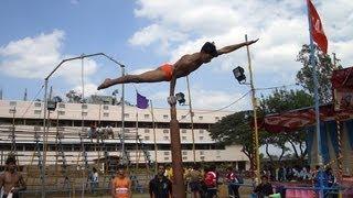 Mallakhamb – akrobatyka na palu