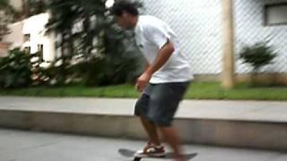 Rolé barrilsinho no MEC. Registro feito pelo camarada Fernando Martinz em Dezembro de 2008, Centro, Rio de Janeiro. Eu ainda me divirto.