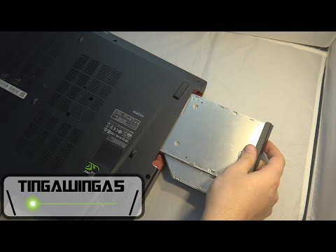 How To Replace Laptop DVD Drive With A BluRay Drive