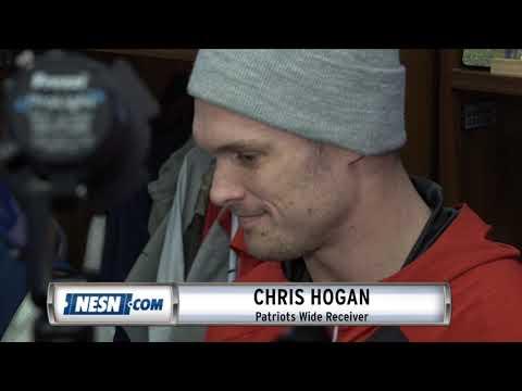 Video: Chris Hogan Patriots vs. Chiefs AFC Championship Availability
