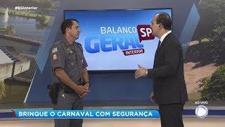 Policial Militar fala sobre a segurança no Carnaval