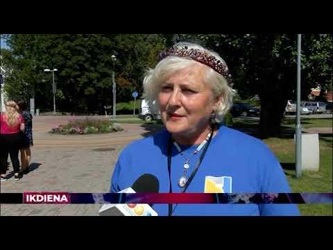 """Kora """"SolLaRe"""" sagaidīšana Valmierā"""
