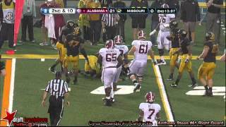 Anthony Steen vs Missouri (2012)