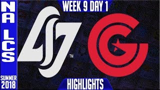 Video CLG vs CG Highlights | NA LCS summer 2018 Week 9 Day 1 | CLG vs Clutch Gaming Highlights MP3, 3GP, MP4, WEBM, AVI, FLV Agustus 2018