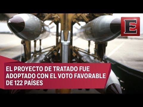 Congratula a México prohibición de armas nucleares