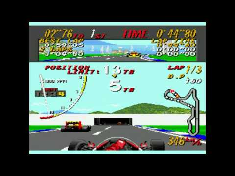 super monaco grand prix megadrive