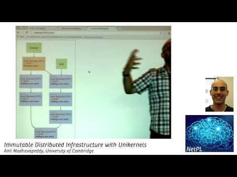 Anil Madhavapeddy - Immutable Distributed Infrastructure with Unikernels