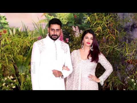 Abhishek Bachchan & Aishwarya Rai Arrive At Sonam