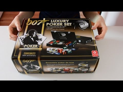 Unboxing ♥ 007 Poker Set (German, soft spoken, ASMR)