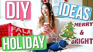 Hi guys! I'm partnering with the Special Olympics to send some really deserving athletes to the 2017 World Winter Games in AUSTRIA!!! Even $1 will make a huge difference! DONATE NOW: https://www.gofundme.com/meredith-fosterIn this video I show you some easy DIY Holiday room decor, gifts, & treats! Which DIY would you try out?! Send me picture if you make anything I want to see! ❤️Have you seen my new vlogmas? 🎄https://www.youtube.com/playlist?list=PLNnUJrVhWUGsfwbdz7_YFB9_Vj-kyHQBiIf you are reading this... comment you're favorite Christmas movie!!!Mine is elf 🎅🏻FOLLOW ME!Twitter: http://twitter.com/meredithfosterInstagram: http://instagram.com/meredithfosterVlog Channel: http://youtube.com/VlogsbyMeredithSnapchat: itsmerefosterFacebook: http://facebook.com/meredith.stilababeTumblr: http://meredithfoster.tumblr.comFTC, this is not a sponsored video!
