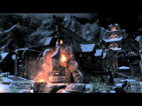 game trailer - The Elder Scrolls V Skyrim | full trailer (2011) XBox 360 Max von Sydow