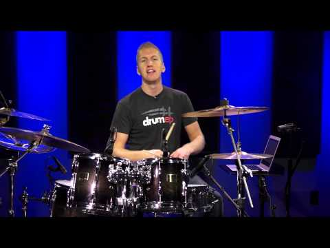 How To Play Drums - Your Very First Drum Lesson
