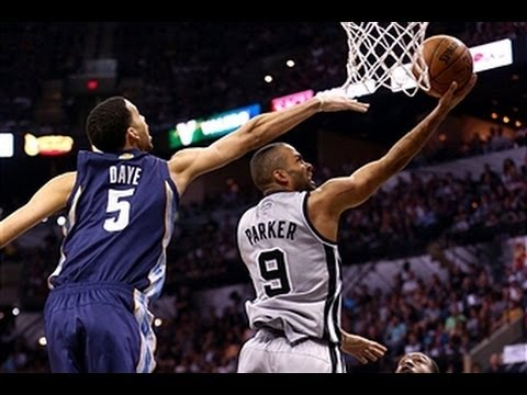 Tony Parker Slices Up the Grizzlies in Game 1_Kos�rlabda vide�k. Heti legjobbak