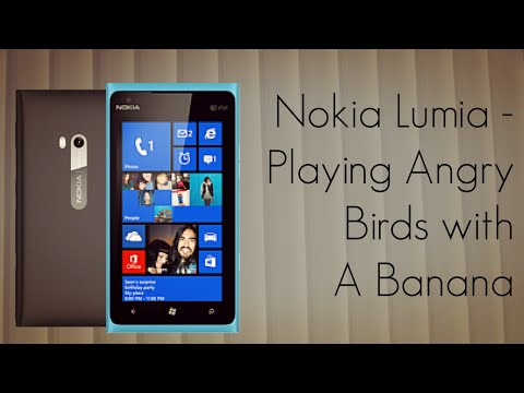 Nokia goes into crazy ads mode: see a dog eating the iPhone 5, and Angry Birds played with a banana