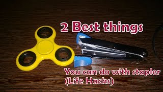 2 Best Things You can do With stapler (Life Hacks)