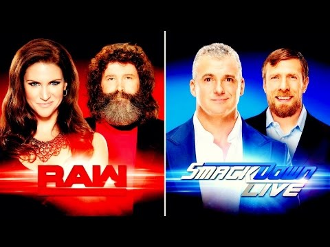 Raw - SmackDown - Intro (After Draft) 2016 -- HD