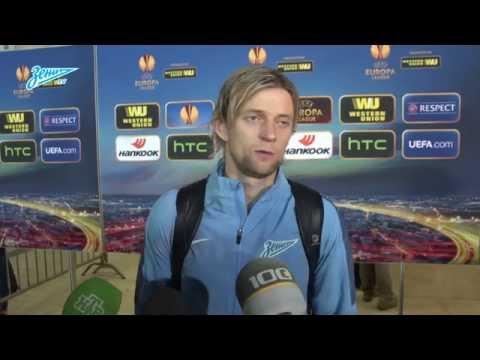 «Зенит-ТВ»: Анатолий Тимощук о матче с «Торино»