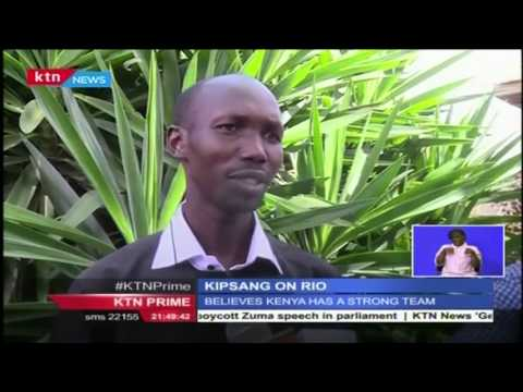 Wilson Kipsang hopes to make the Kenyan team to the Rio olympic