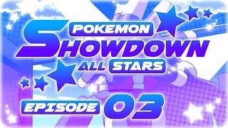 Randomized Pokemon Showdown Live! RU Showdown All Stars Episode 3: BOOMBURST by aDrive