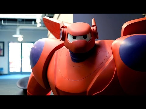 hero - Norm visits Disney Animation Studios to get a preview of Big Hero 6, the upcoming film that is Disney's first animated feature based on a Marvel comics property. We interview the directors...