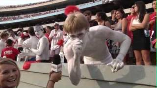 How crazy the UGA University of Georgia fans are!!